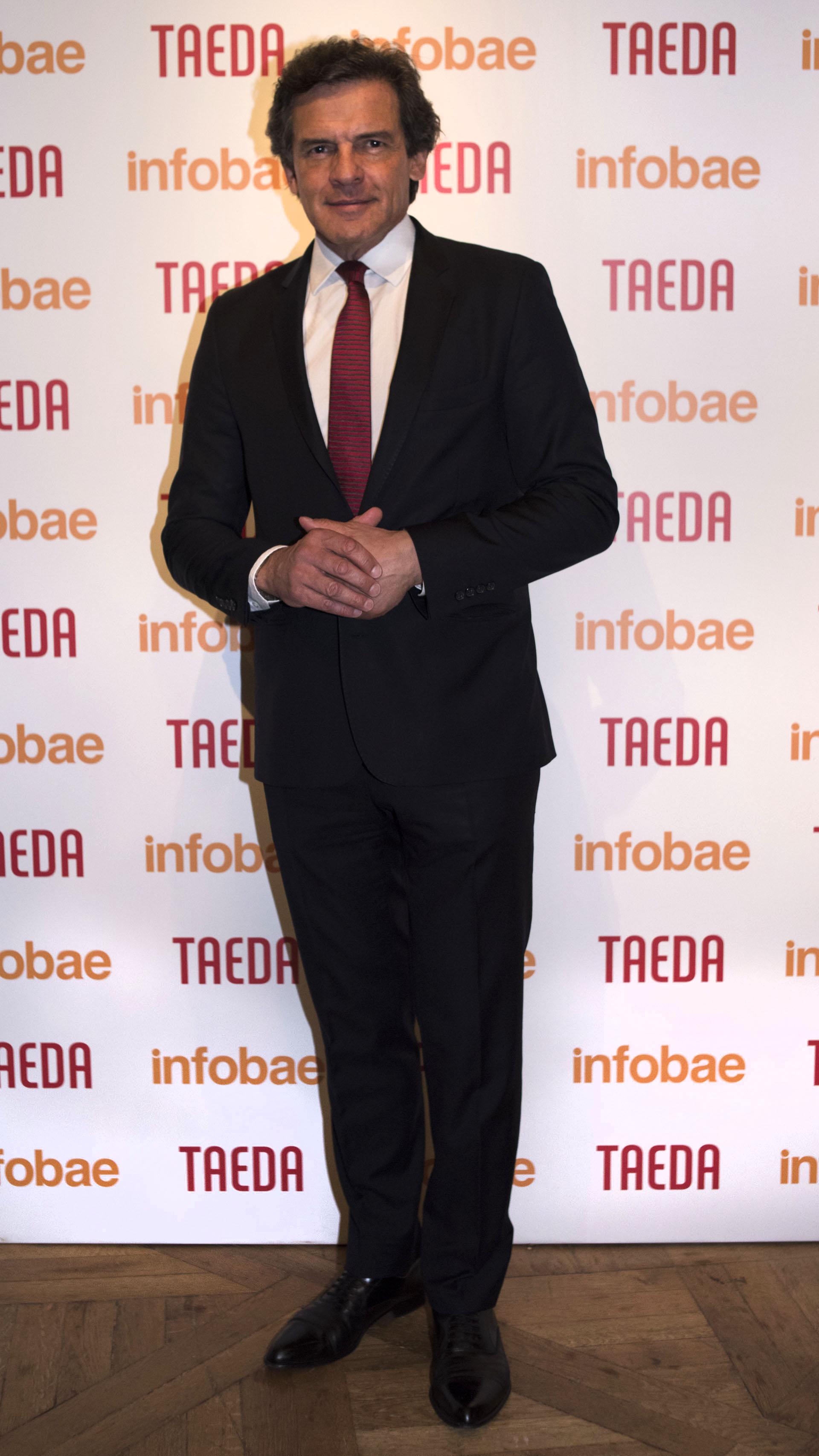 El periodista Claudio Rígoli