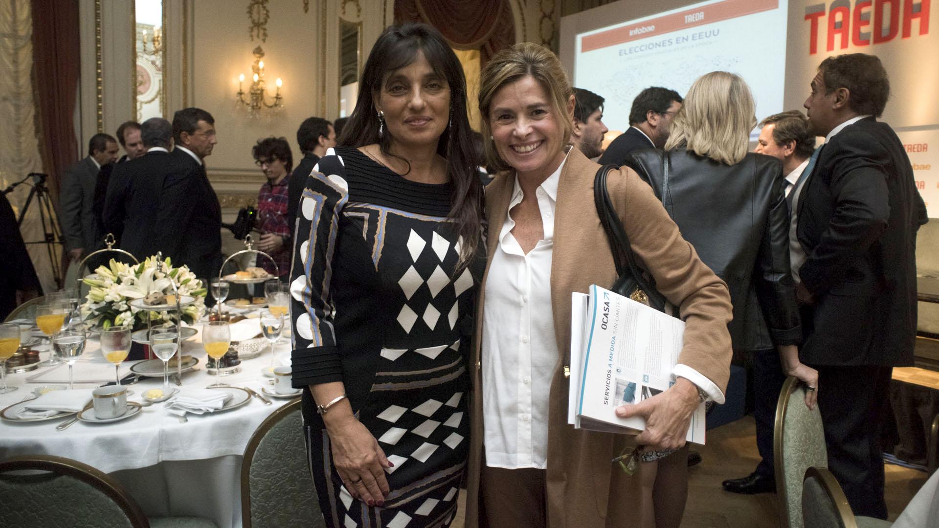 Viviana Zocco y María Laura Leguizamón