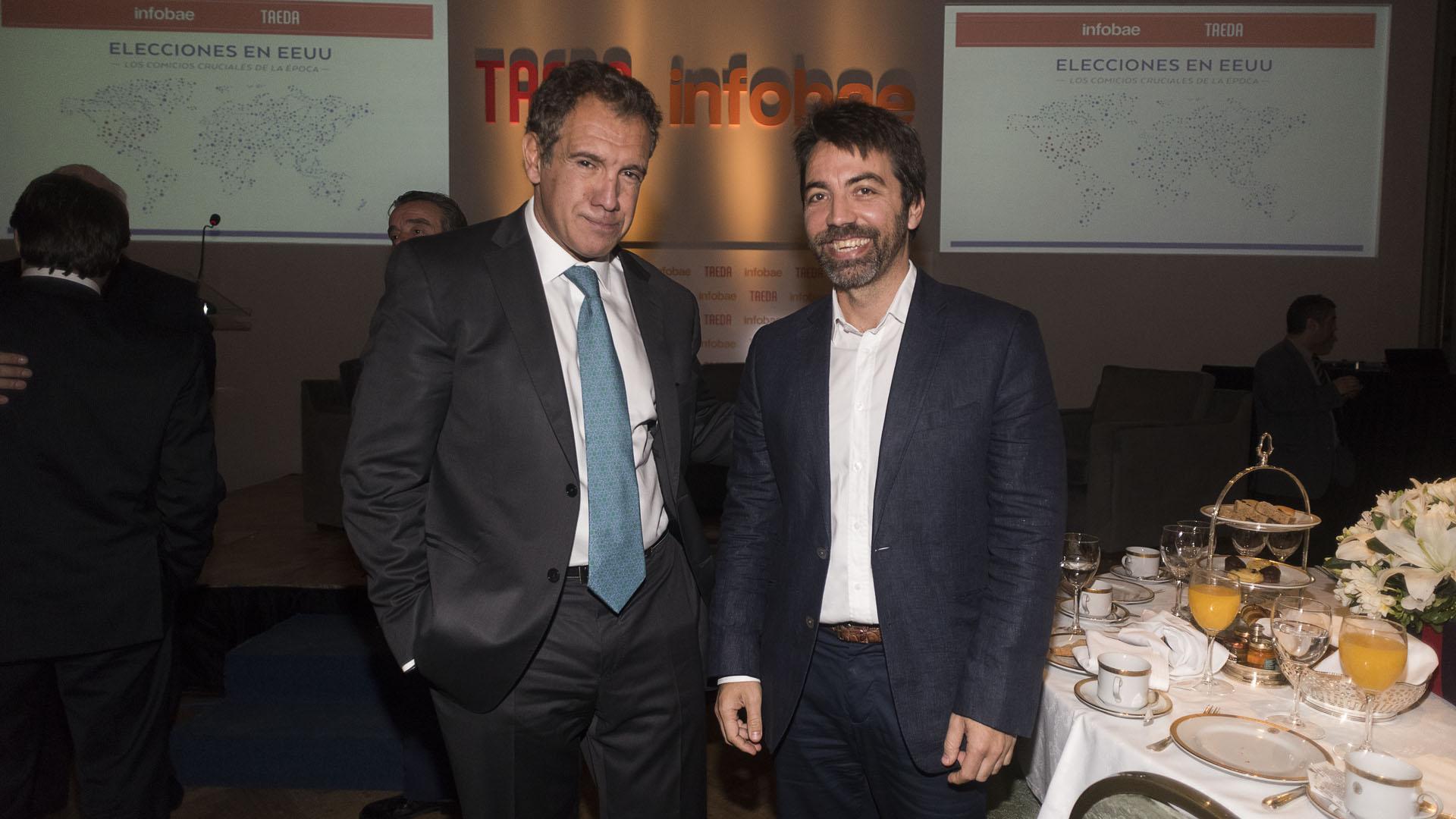 Daniel Hadad y Francisco Fascetto (Diario Popular)
