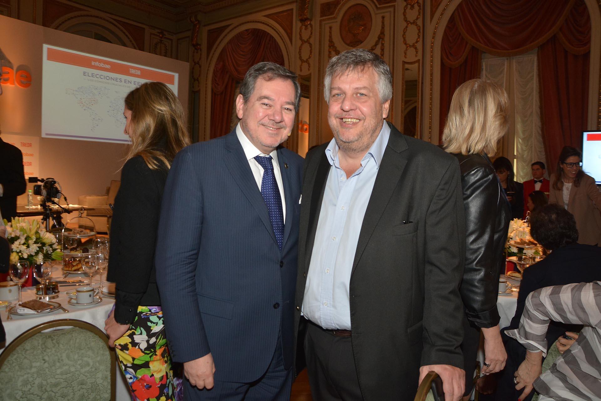 Mario Montoto y Carlos Stornelli