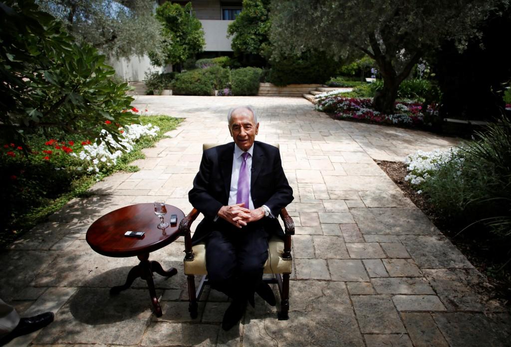 Foto de 2013 de Shimon Peres