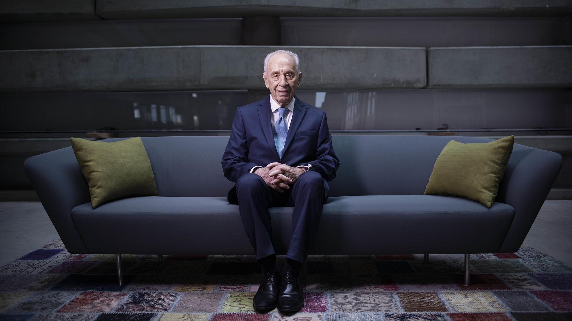 Shimon Peres, febrero de 2016