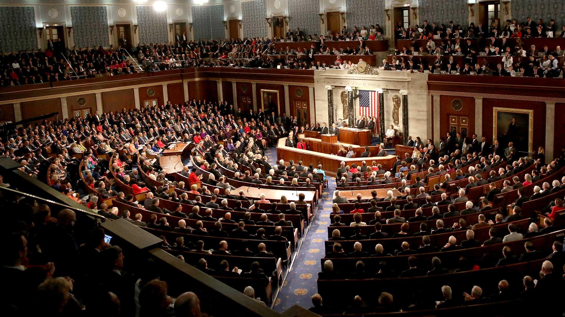 Congreso de Estados Unidos (Getty Images)