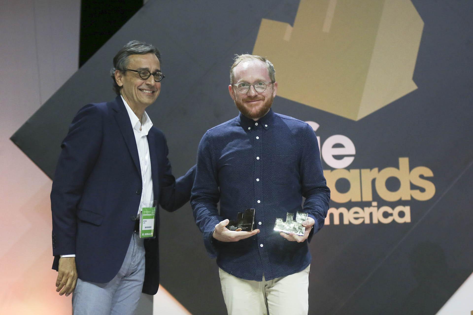 """El Effie de Oro en la categoría """"Alimentos""""fue para Pomarola, Together we make sauce, de J. Walter Thompson Brasil para Cargill, Brasil"""