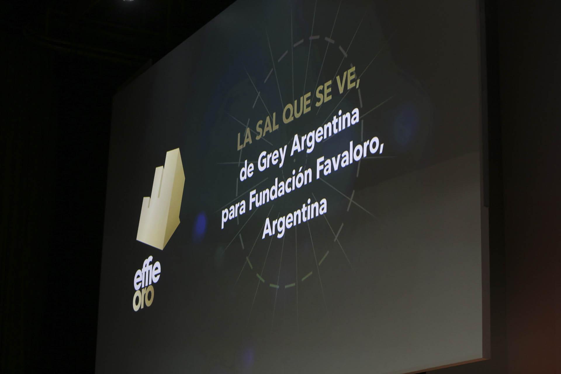 """Categoría """"Buenas Causas, entidades sin fines de lucro"""": La sal que se ve, de Grey Argentina para Fundación Favaloro"""