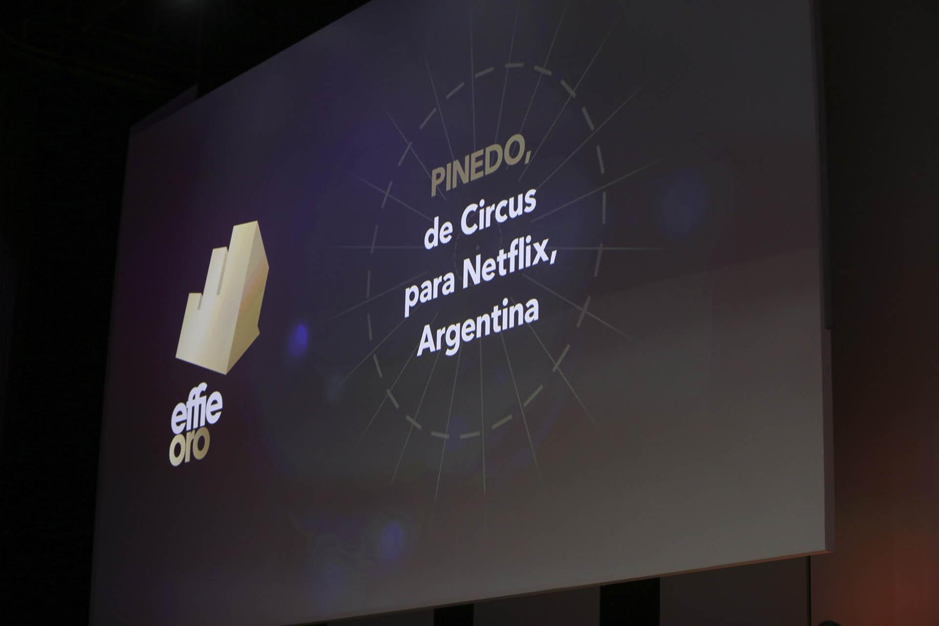 Pinedo, de Circus para Netflix, Argentina