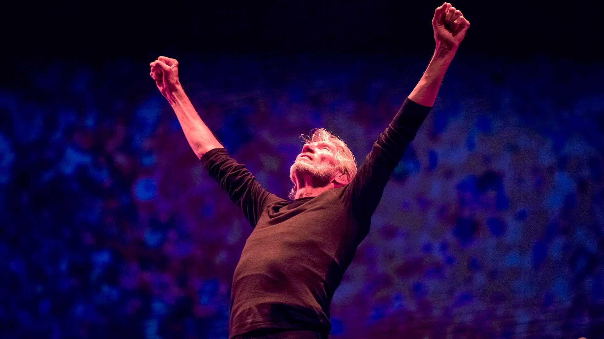 Roger Waters, el gran músico inglés se comprometió con la causa humanitaria por la identidad de los soldados de Malvinas (EFE)