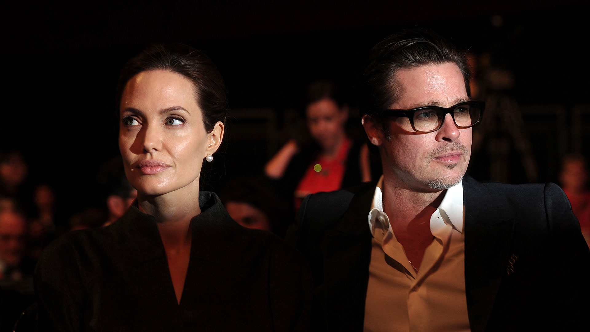 Angelina Jolie no quiere compartir la custodia legal de sus hijos con Brad Pitt (AFP)
