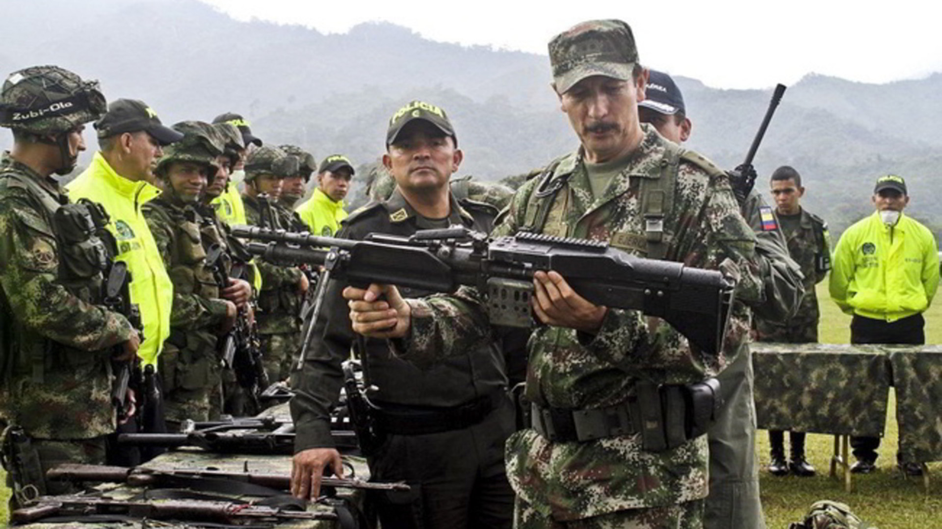 Las FARC entregaron todas las armas tras medio siglo de conflicto (EFE)