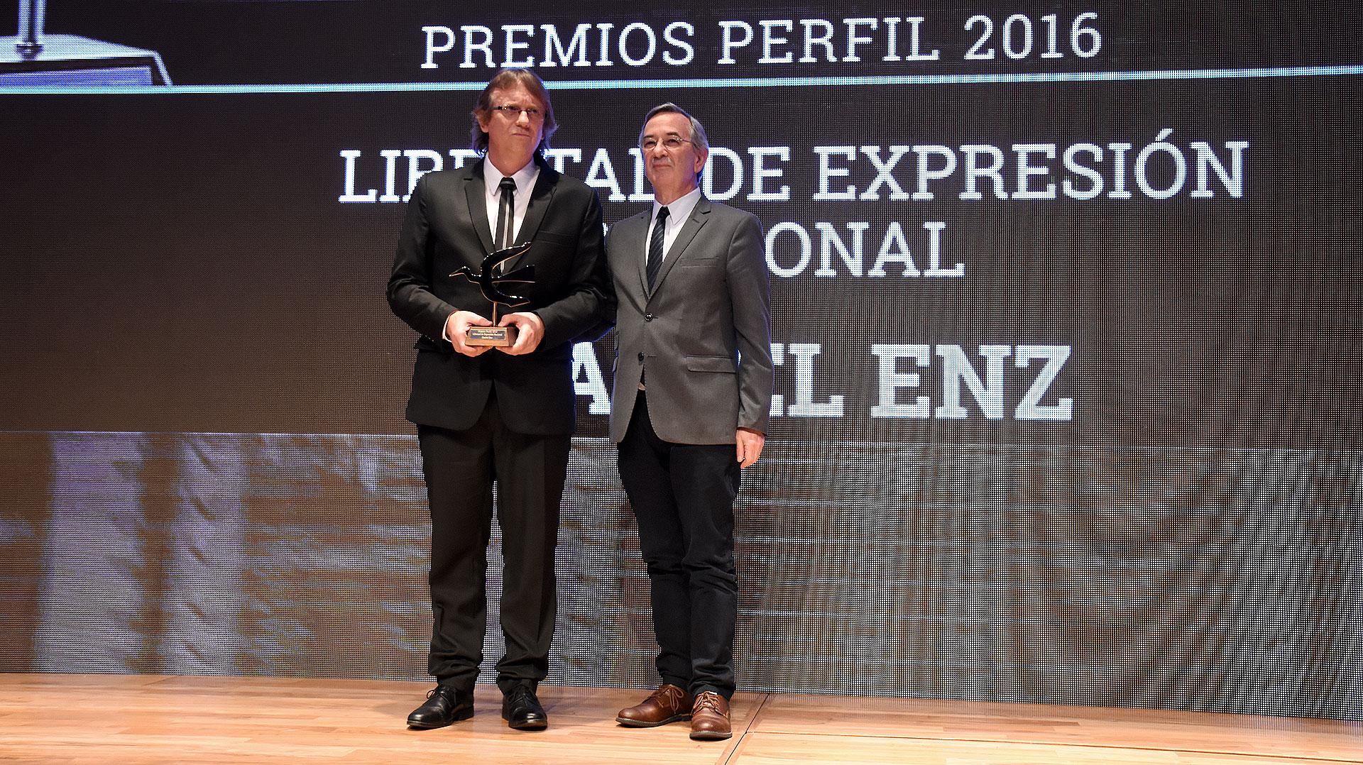 Daniel Enz y Jorge Sigal