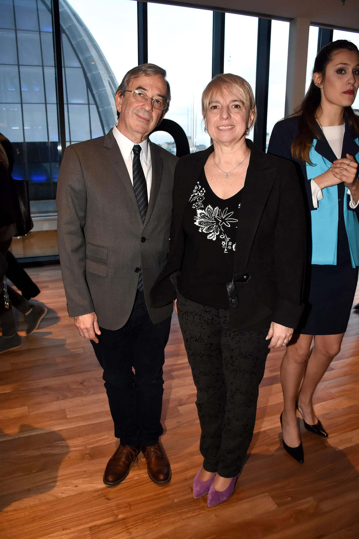 El secretario de Medios Jorge Sigal y Silvana Giudici, miembro del Enacom