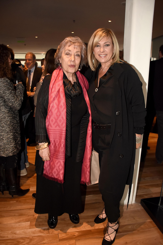 Norma Morandini y Myriam Bunin