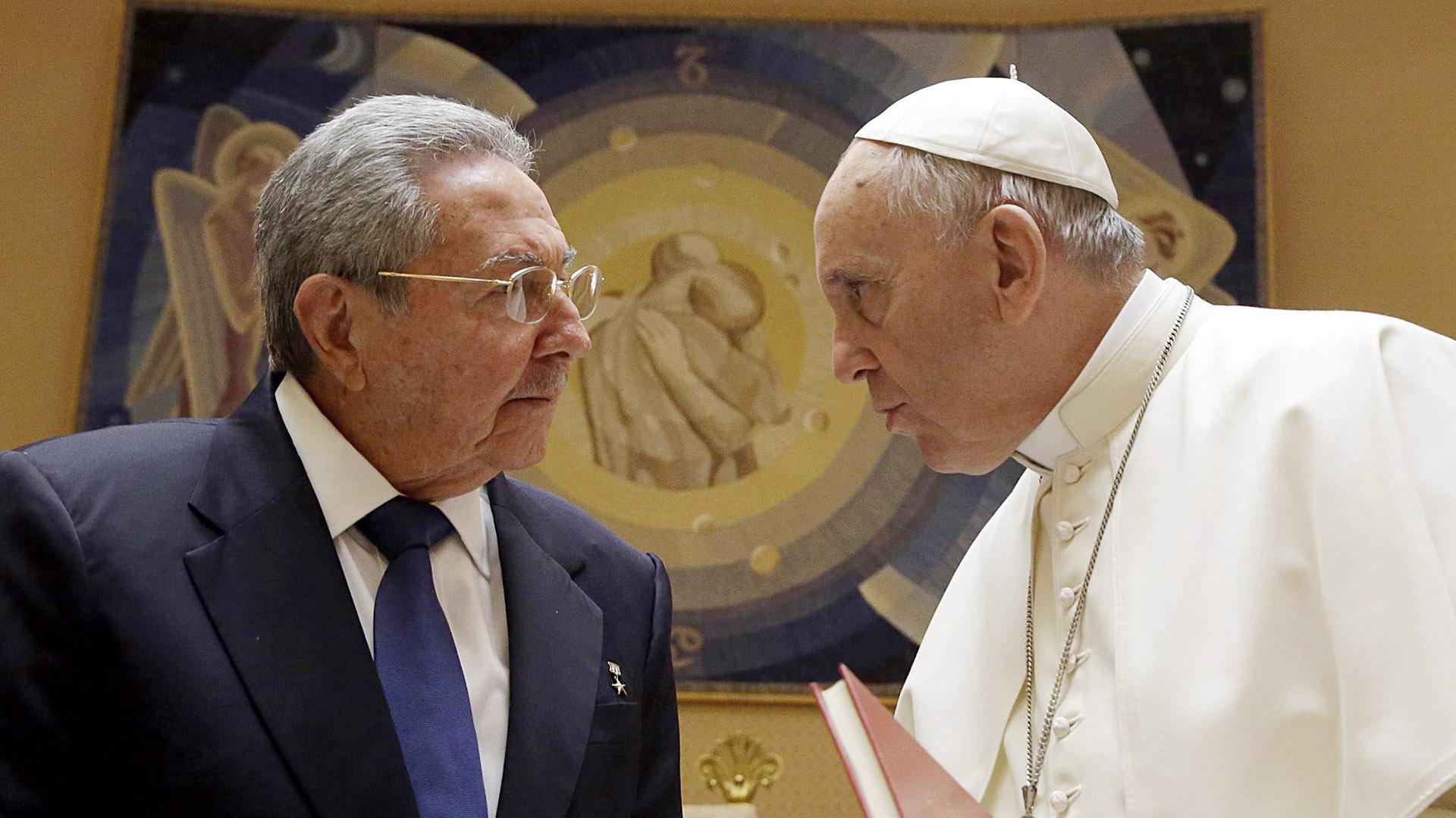 10 de mayo de 2015. Con el presidente cubano Raúl Castro