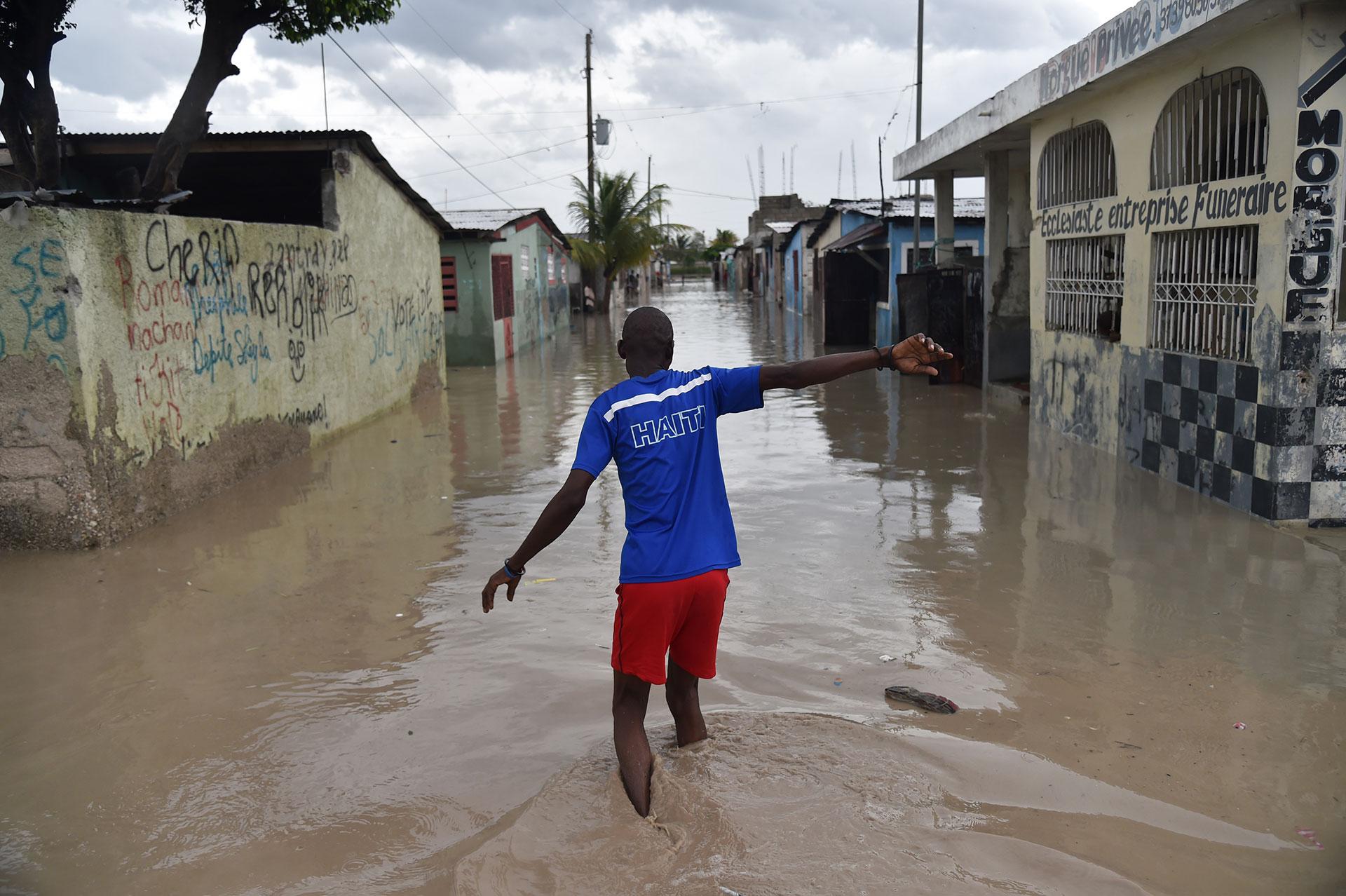 Haití fue el país que más sufrió el paso del huracán hasta el momento (AFP)