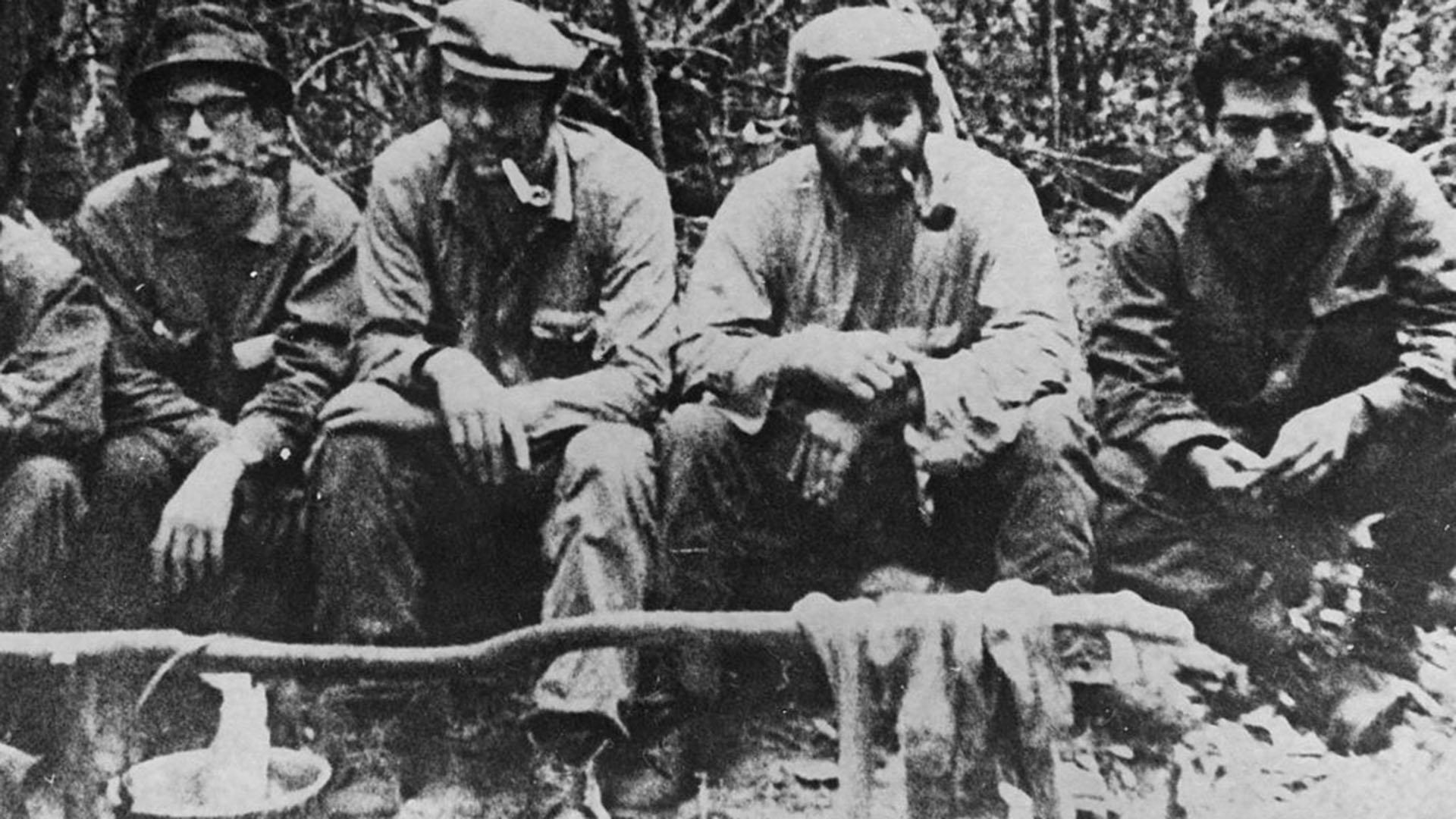 Ernesto Che Guevara en Bolivia. Foto de Hulton Archive (Getty Images)