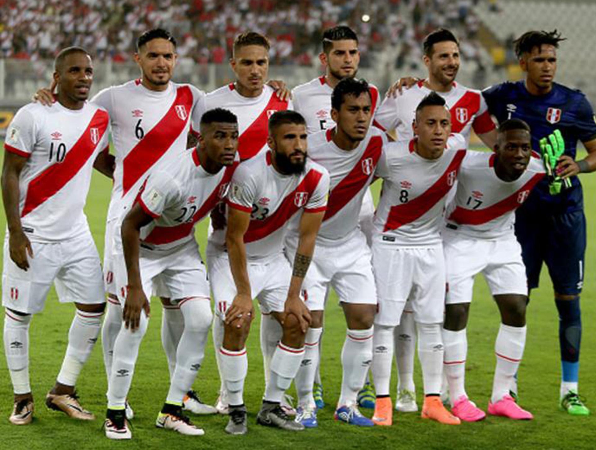 La Federación Peruana de Fútbol reveló finalmente la lista preliminar para el Mundial de Rusia 2018