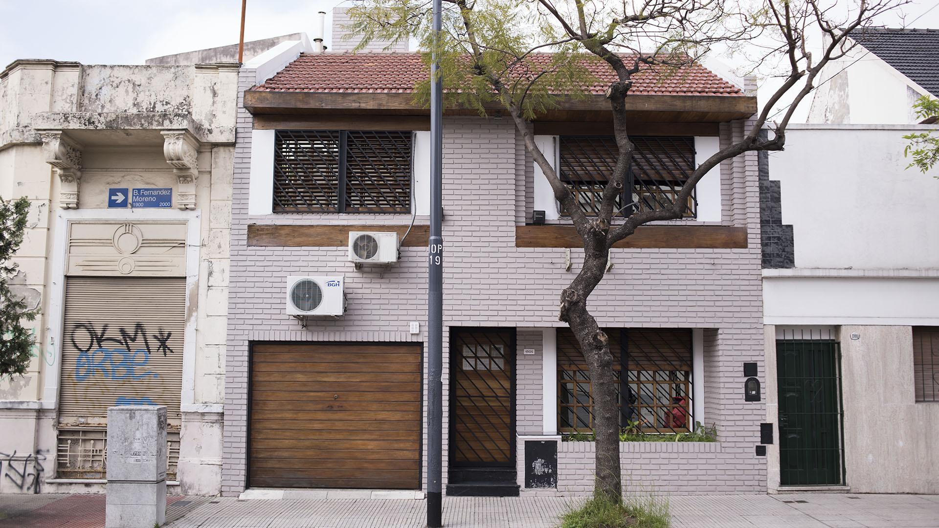 La casa de la familia Bagnato fue comprada y restaurada. (Adrián Escandar)