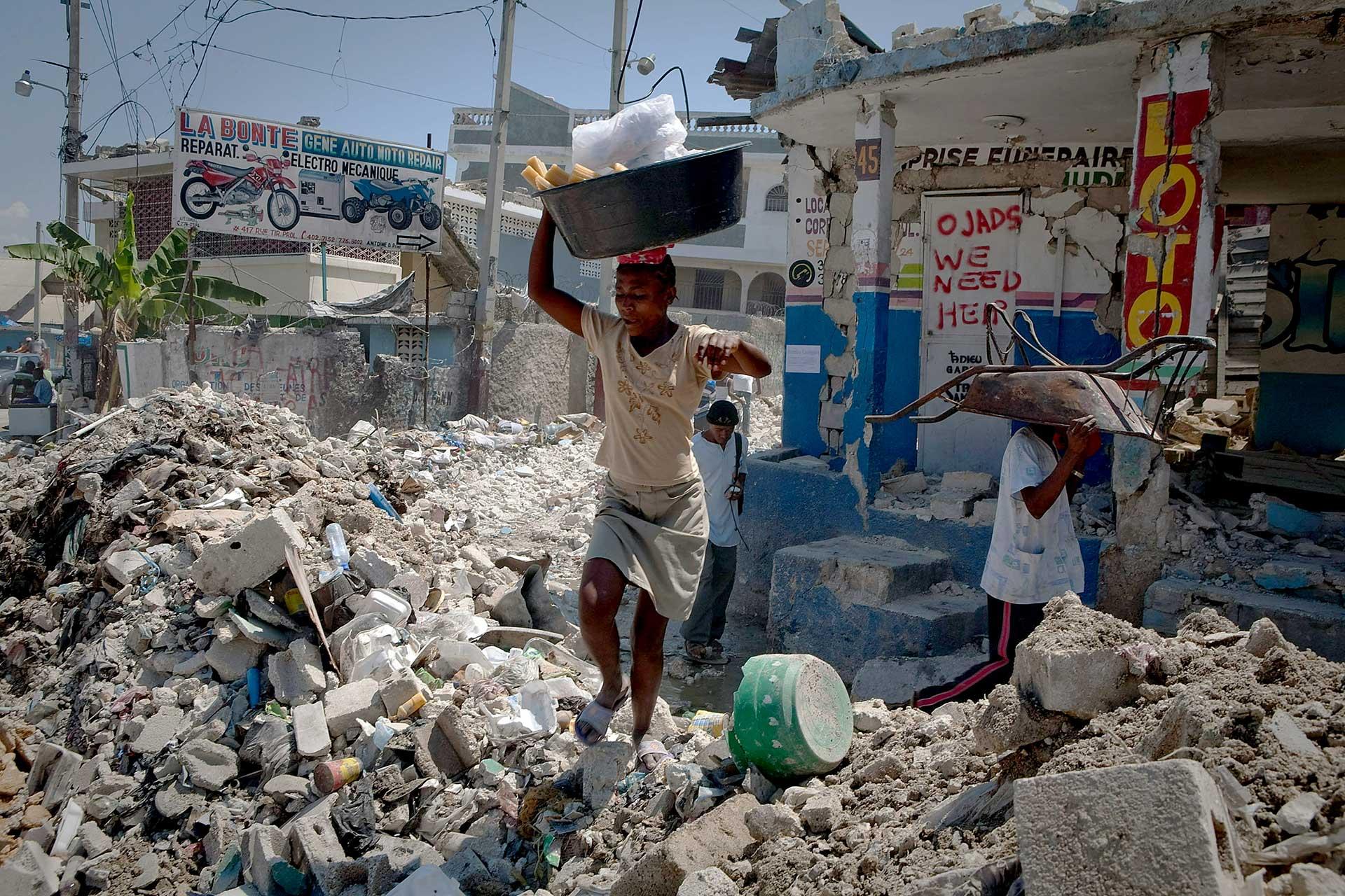 El terremoto de 2010 dejó más de 300.000 muertos en Haití