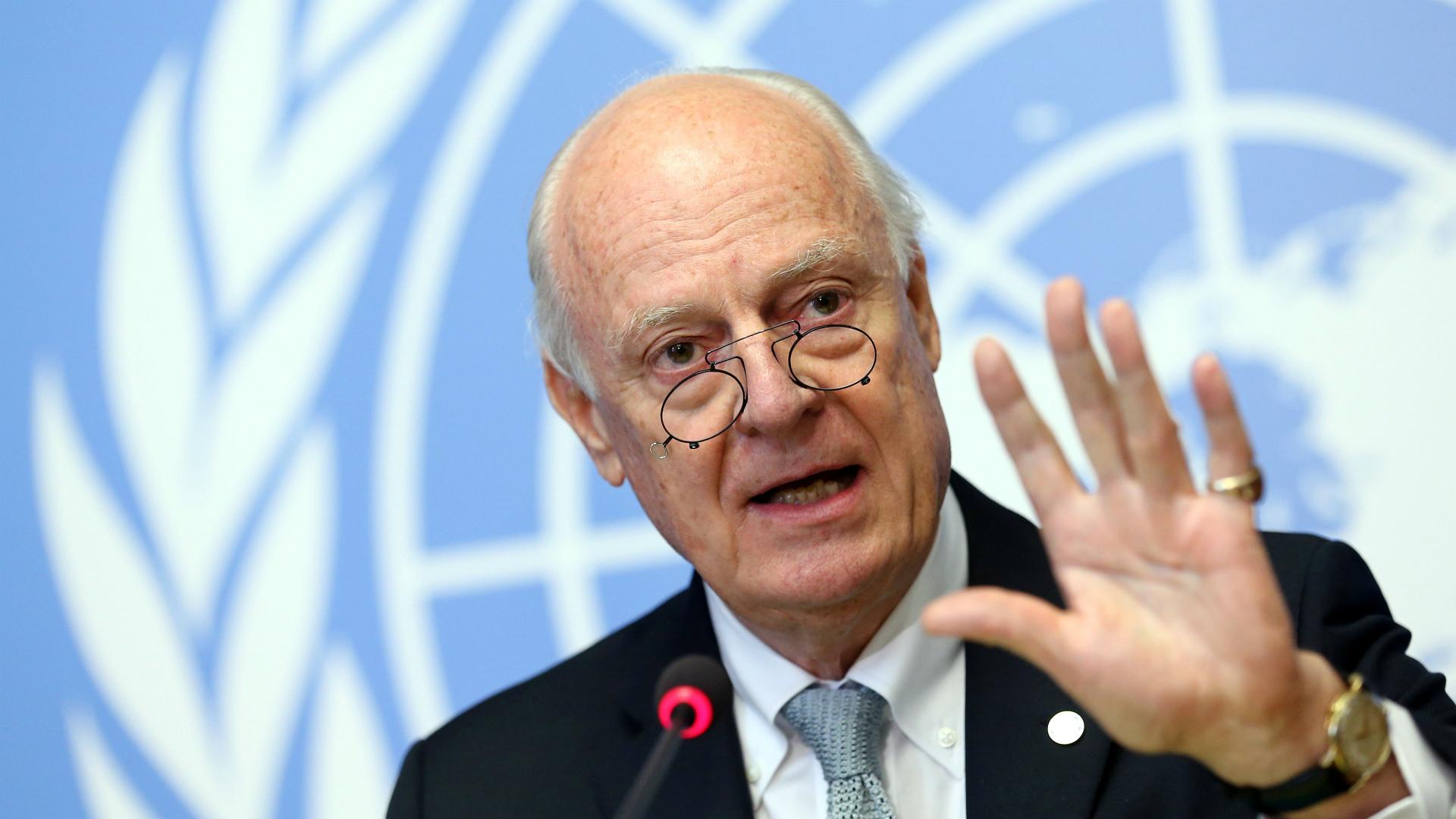 El enviado especial de la ONU para Siria, Staffan de Mistura (Reuters)