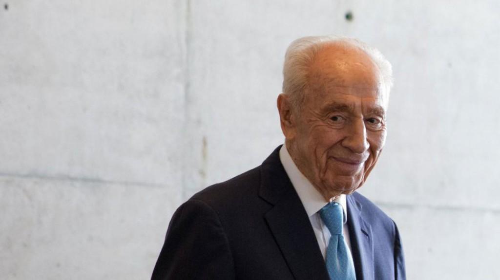 Shinagel pudo conocer en Israel al fallecido Shimon Peres, a quien admiraba (AFP)
