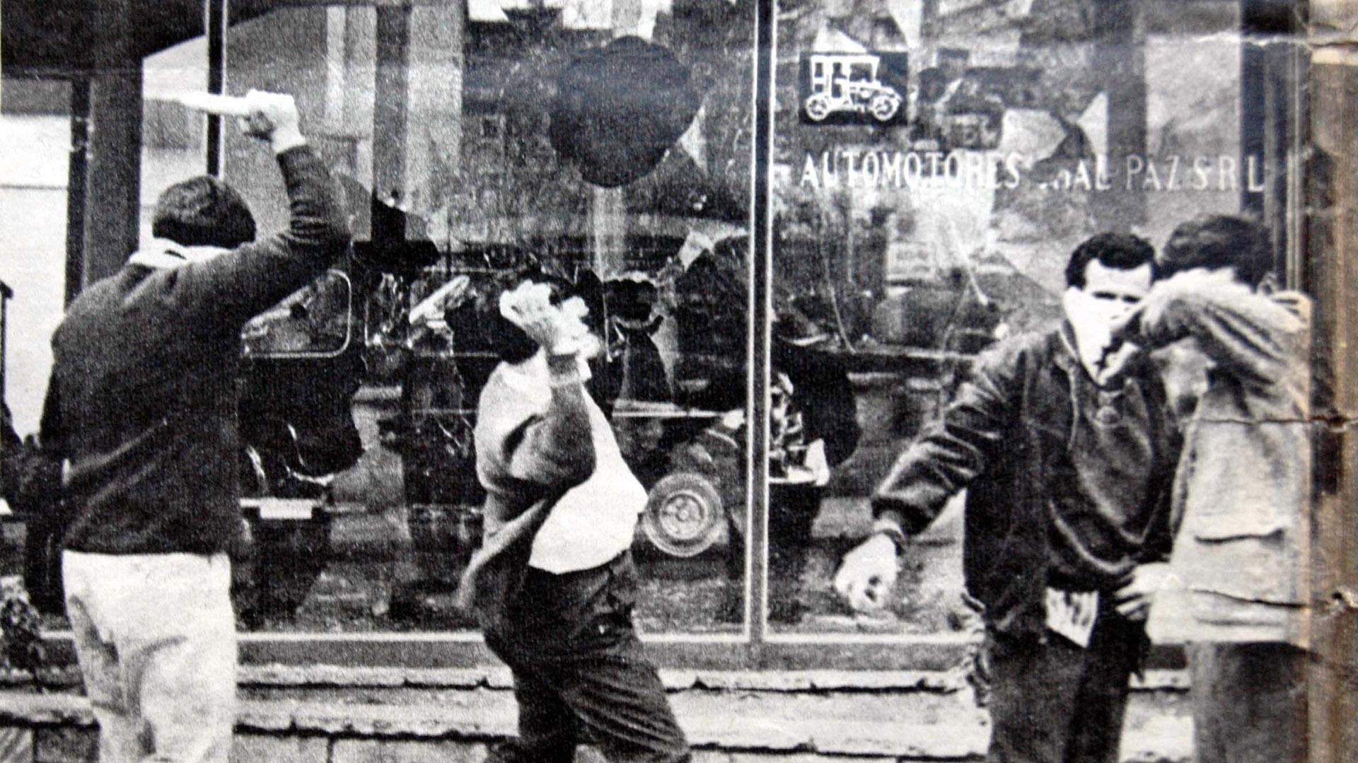 El 29 de mayo de 1969 se desencadenaba el Cordobazo, la mayor insurrección urbana que se produjo en la capital cordobesa (Télam)