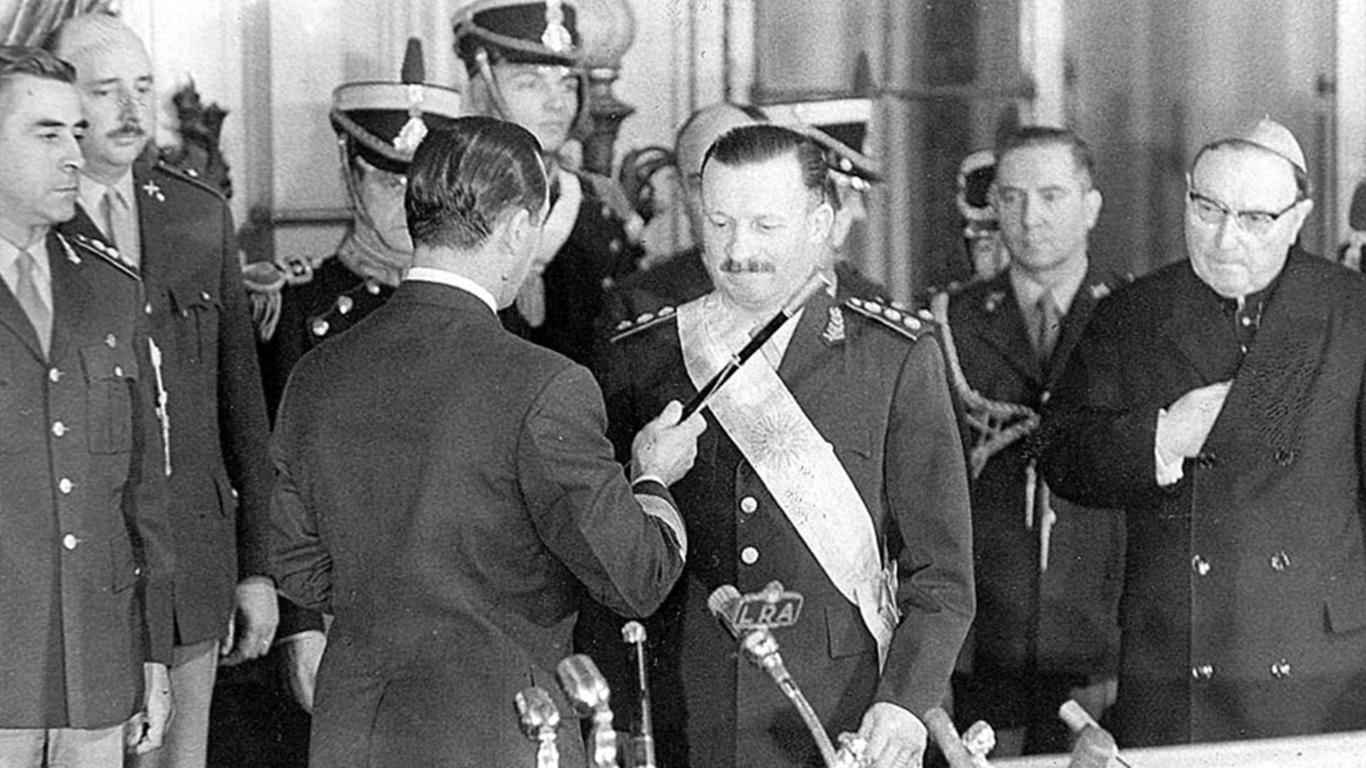 Juan Carlos Onganía fue presidente de facto entre 1966 y 1970