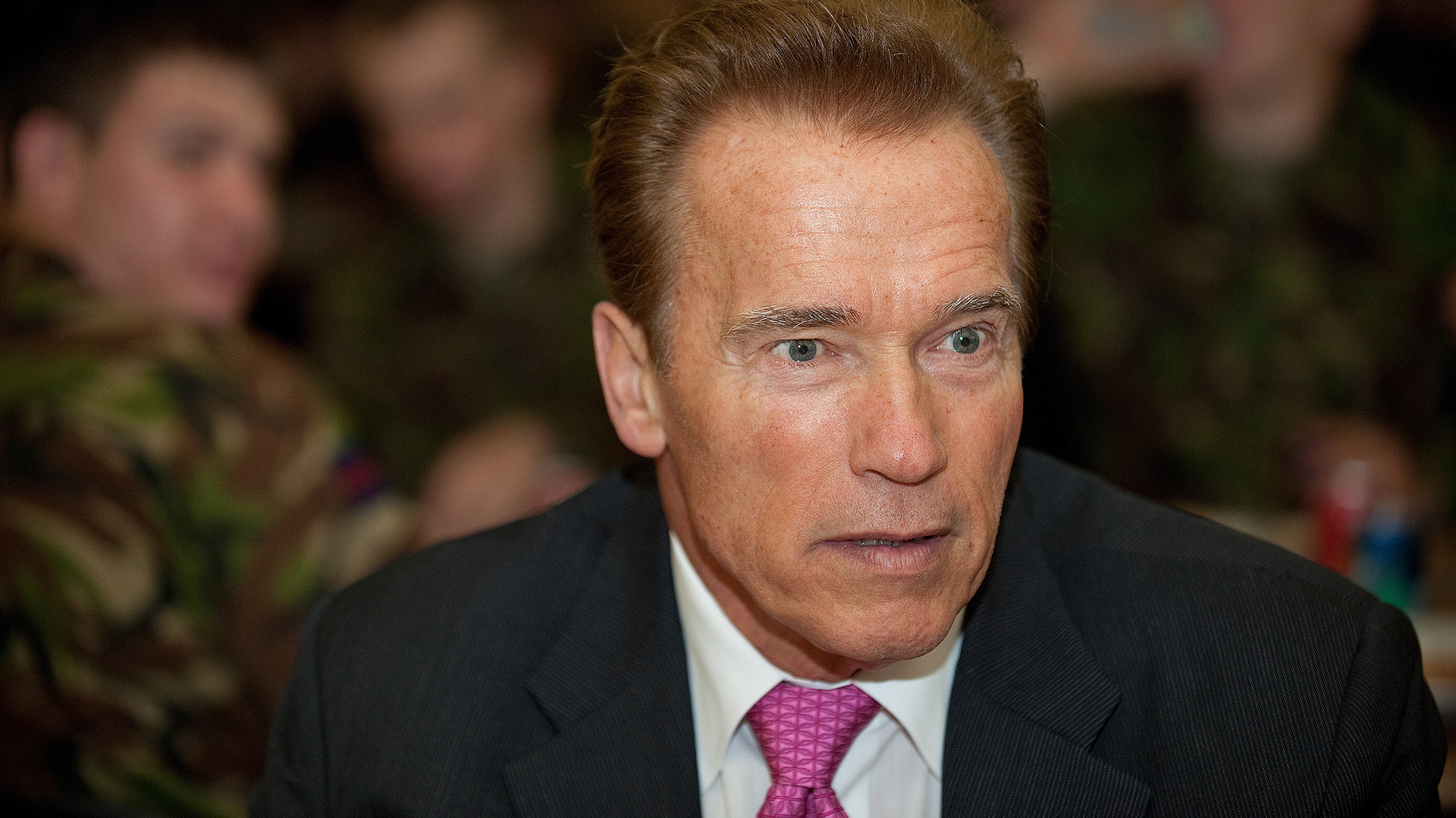 Arnold Schwarzenegger (Getty)