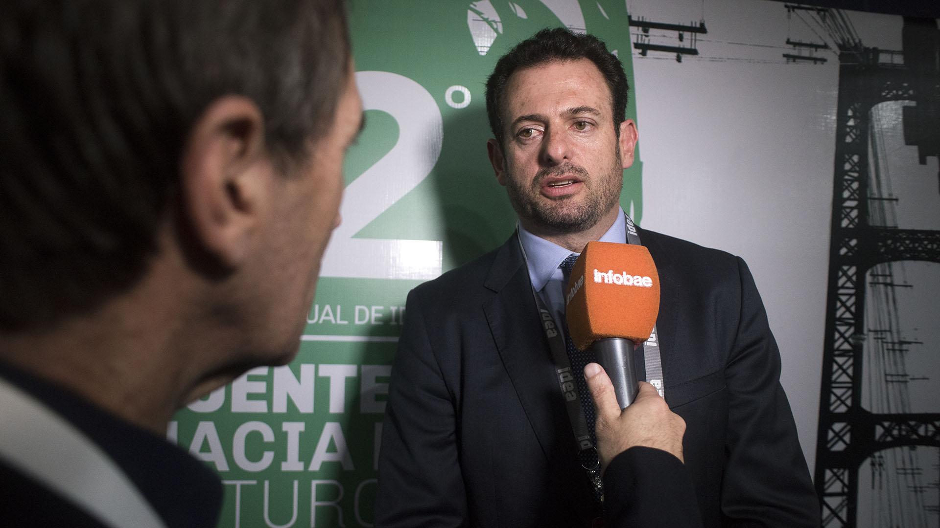 El vicepresidente de la Unión Industrial Argentina (UIA), José Urtubey