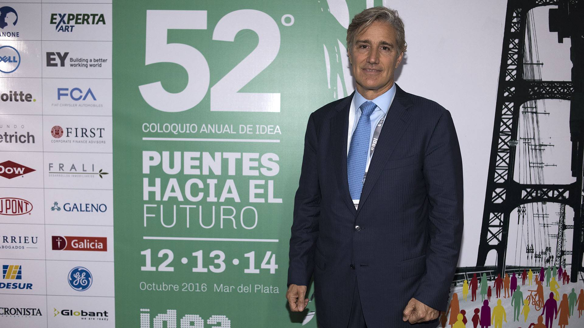 El presidente de Laboratorios Richmond, Marcelo Figueiras