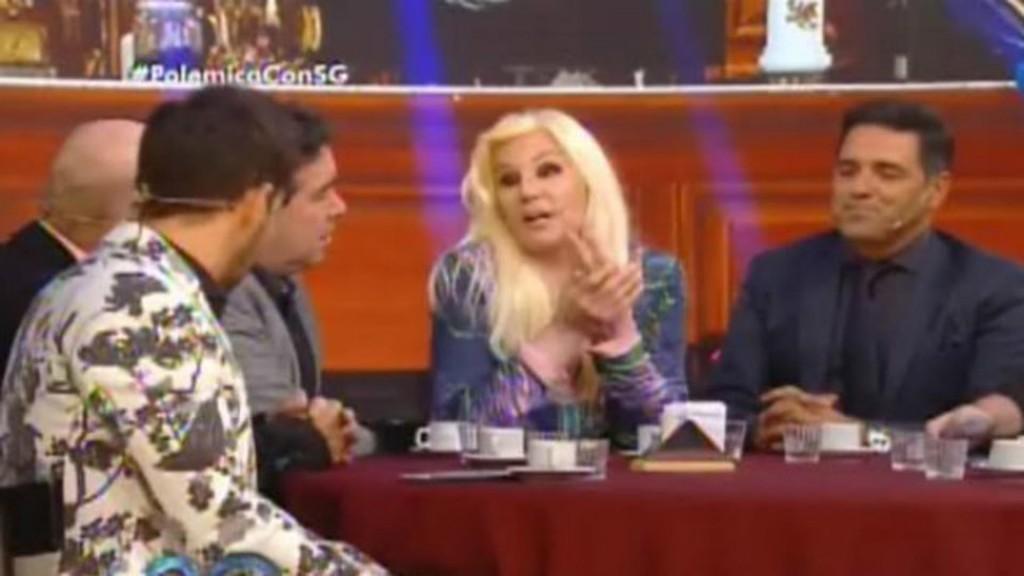 Susana estuvo en la mesa de Polémica en el Bar, en su progarma