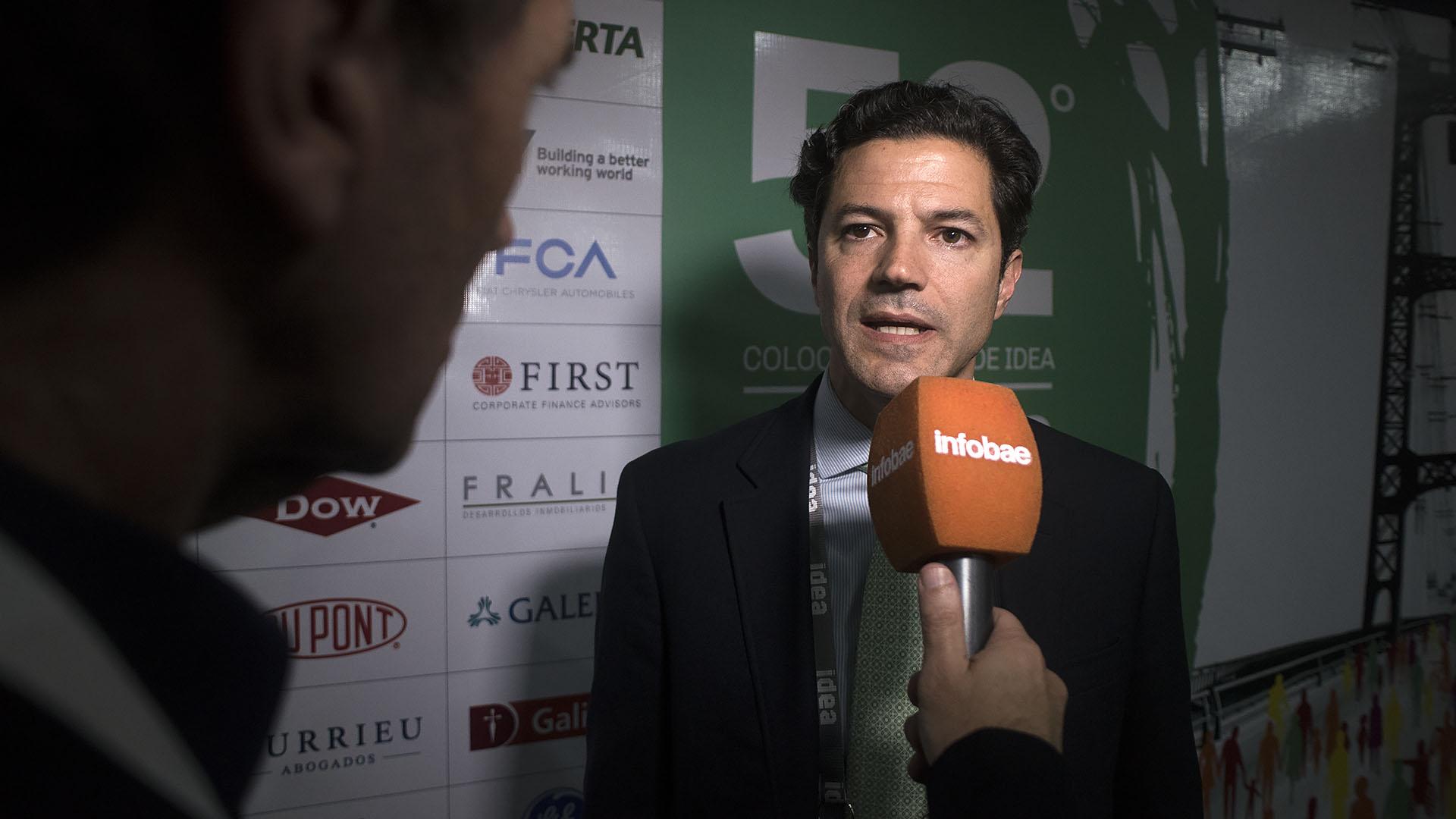 El presidente de la Comisión de Presupuesto y Hacienda, Luciano Laspina