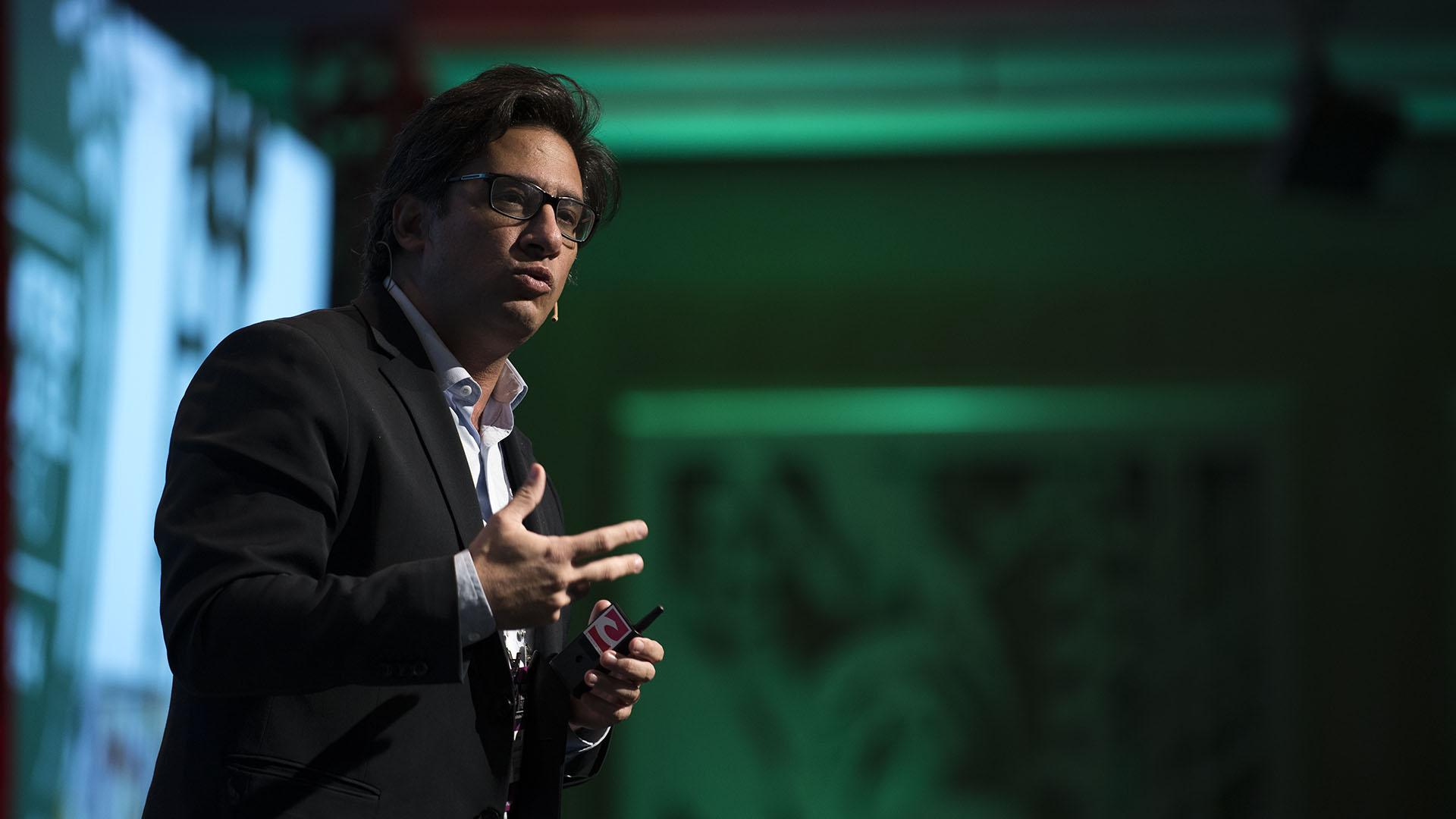 Germán Garavano, Ministro de Justicia y Derechos Humanos de la Nación, durante su ponencia en el Tercer Panel del Coloquio IDEA