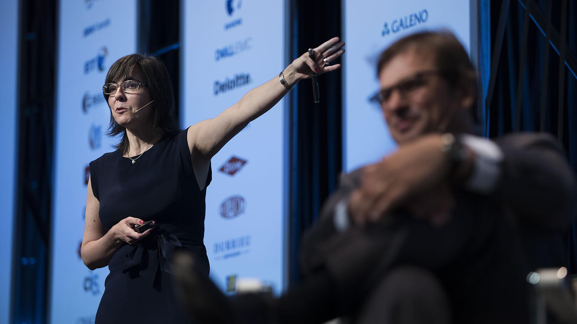 María Laura Alzúa, Investigadora del CEDLAS (Centro de Estudios Distributivos, Laborales y Sociales) e Investigadora del CONICET