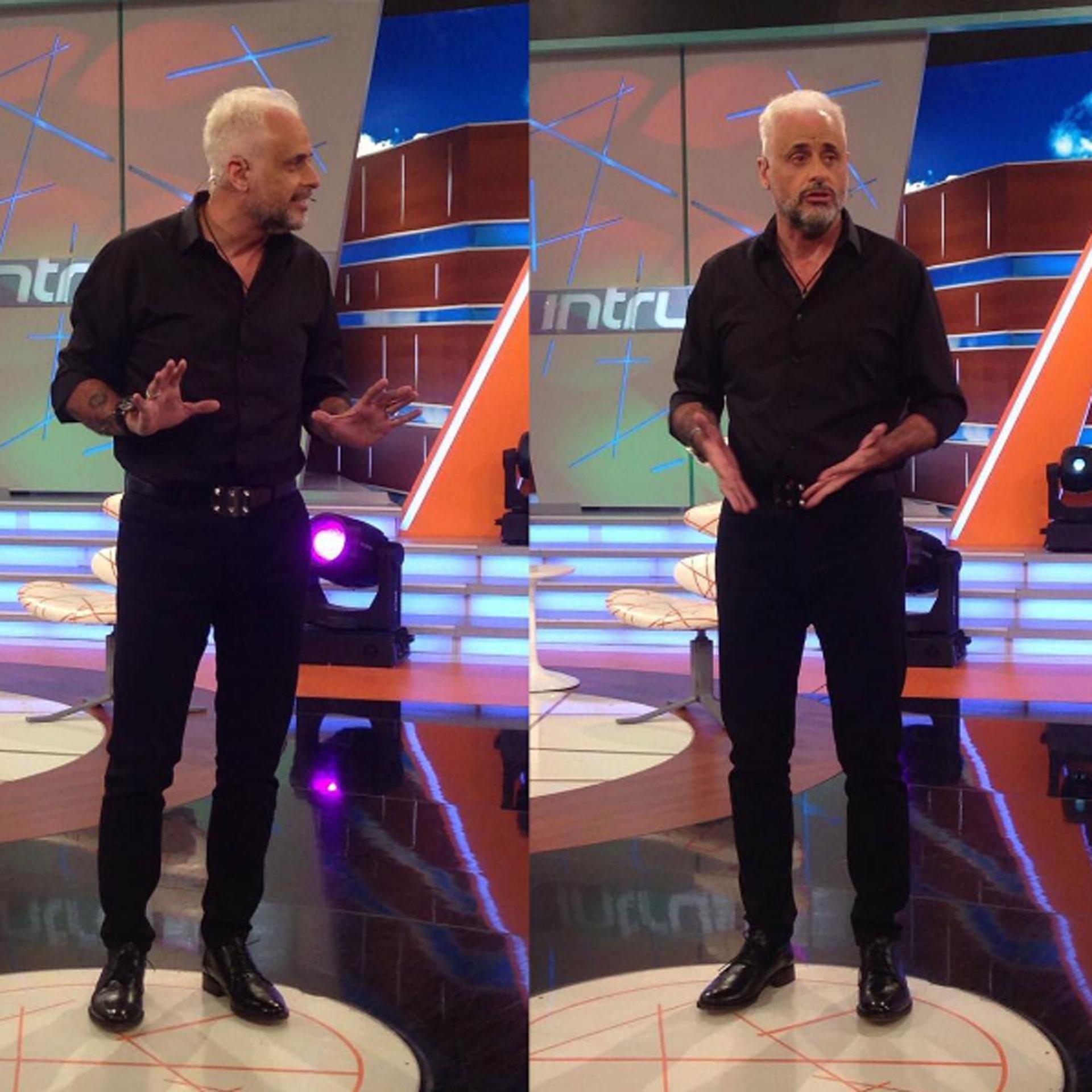 Jorge Rial y su nuevo look: a días de cumplir 55, se animó al blanco platinado