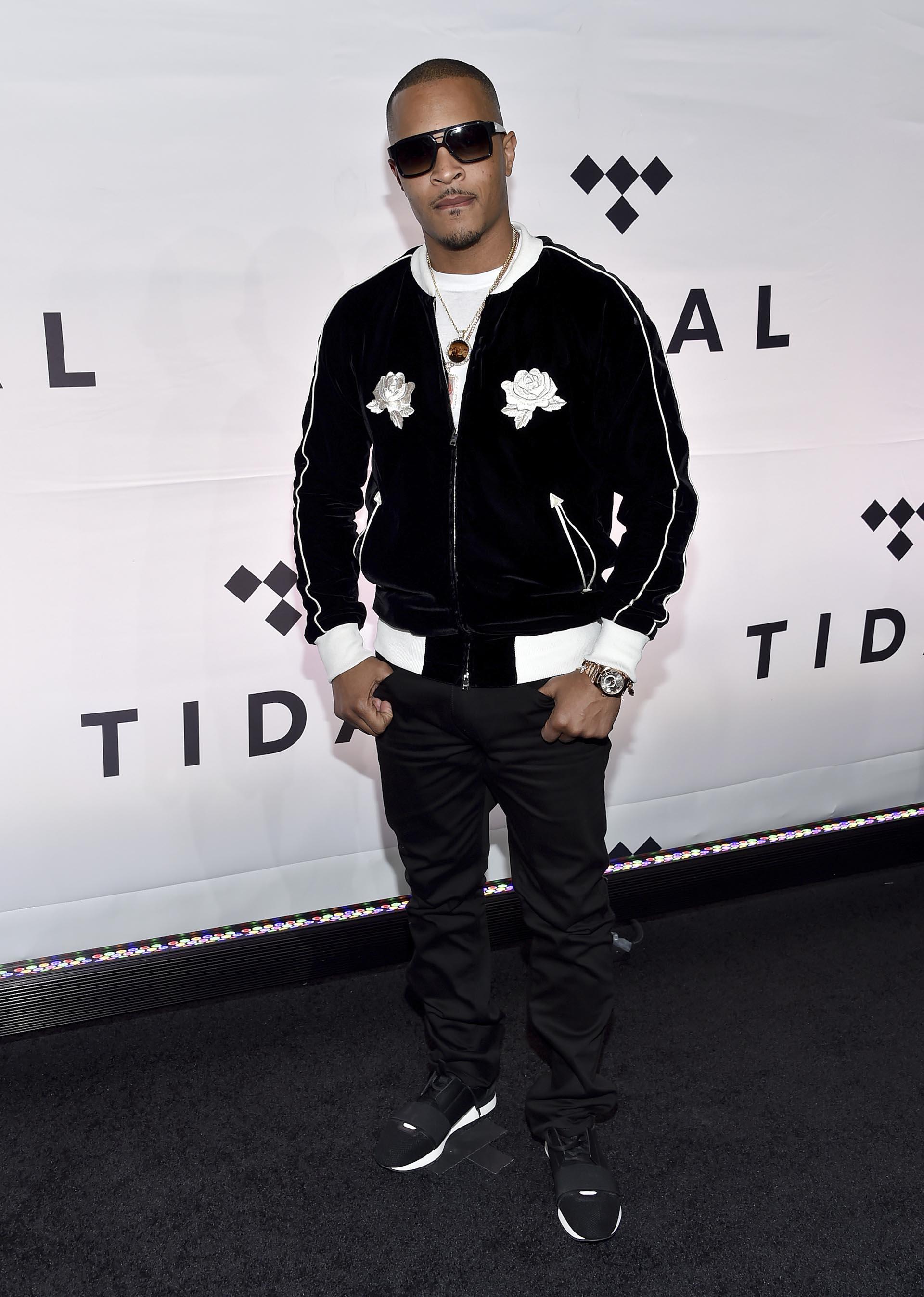 T.I. también estuvo presente en el Barclays Center de Nueva York