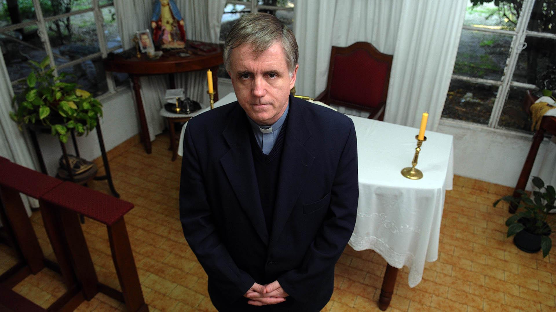 El caso de Julio César Grassi fue el primer resonante contra un sacerdote de la Iglesia Católica. (foto de archivo: Télam)