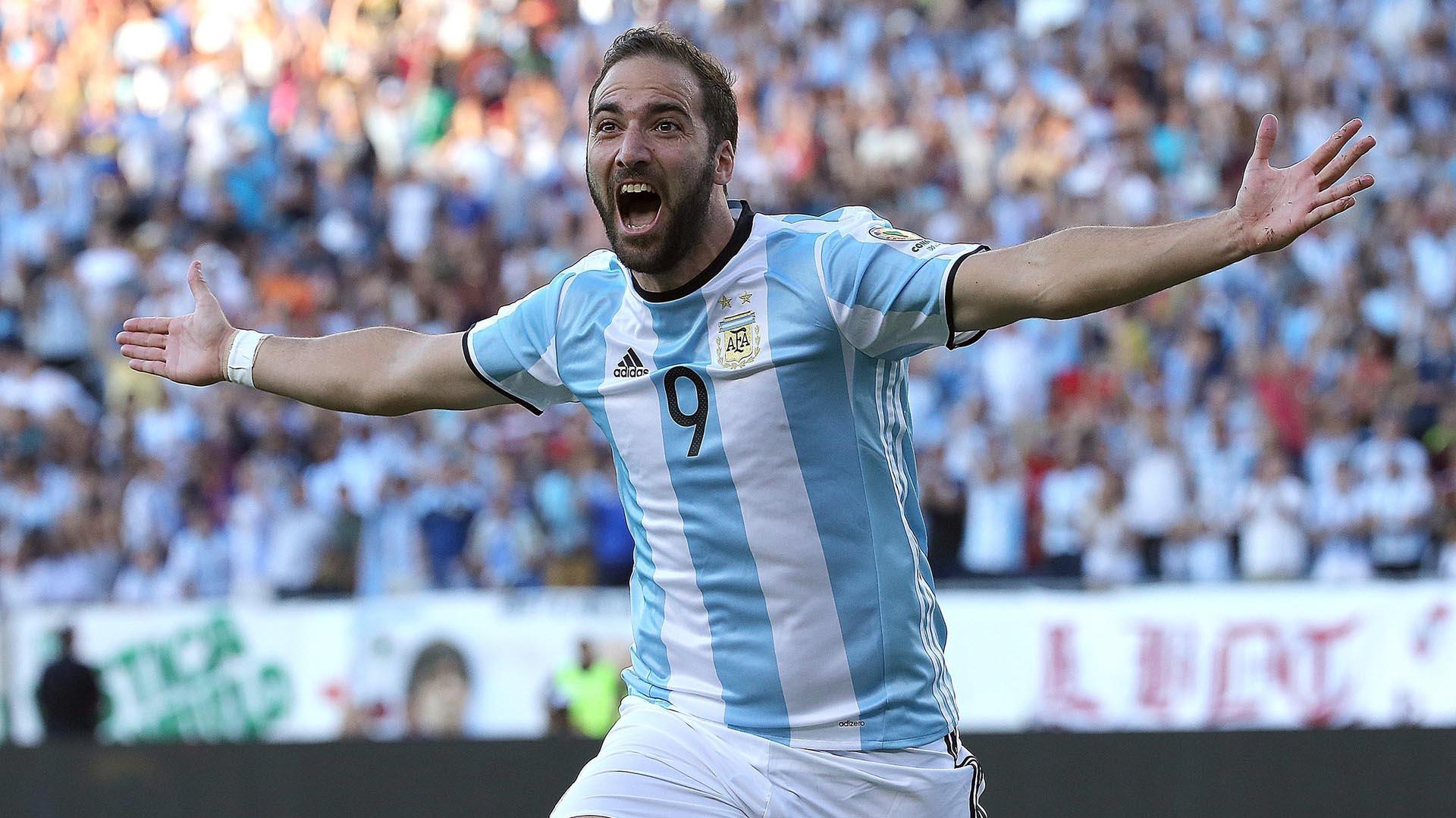 Gonzalo Higuaín se refirió a los goles que falló en las finales con la Selección argentina (AFP)