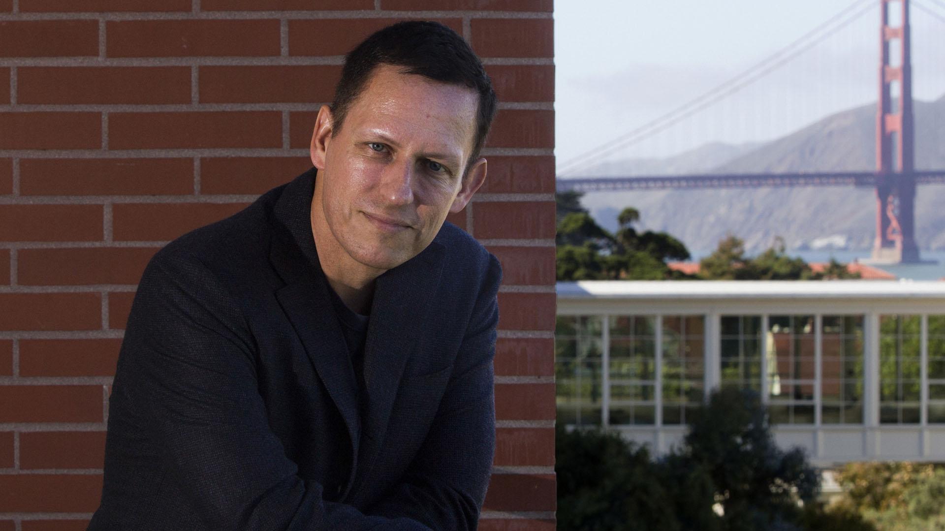 Peter Thiel, cofundador de PayPay.
