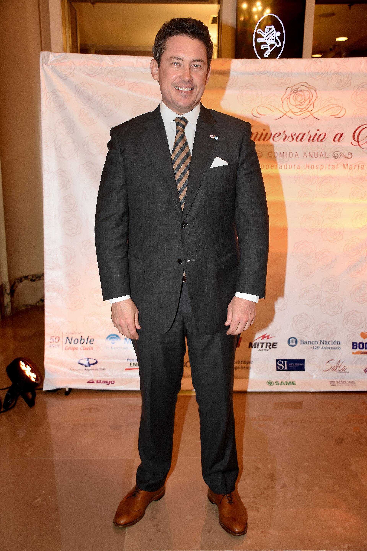Noah Mamet, embajador de los Estados Unidos en la Argentina