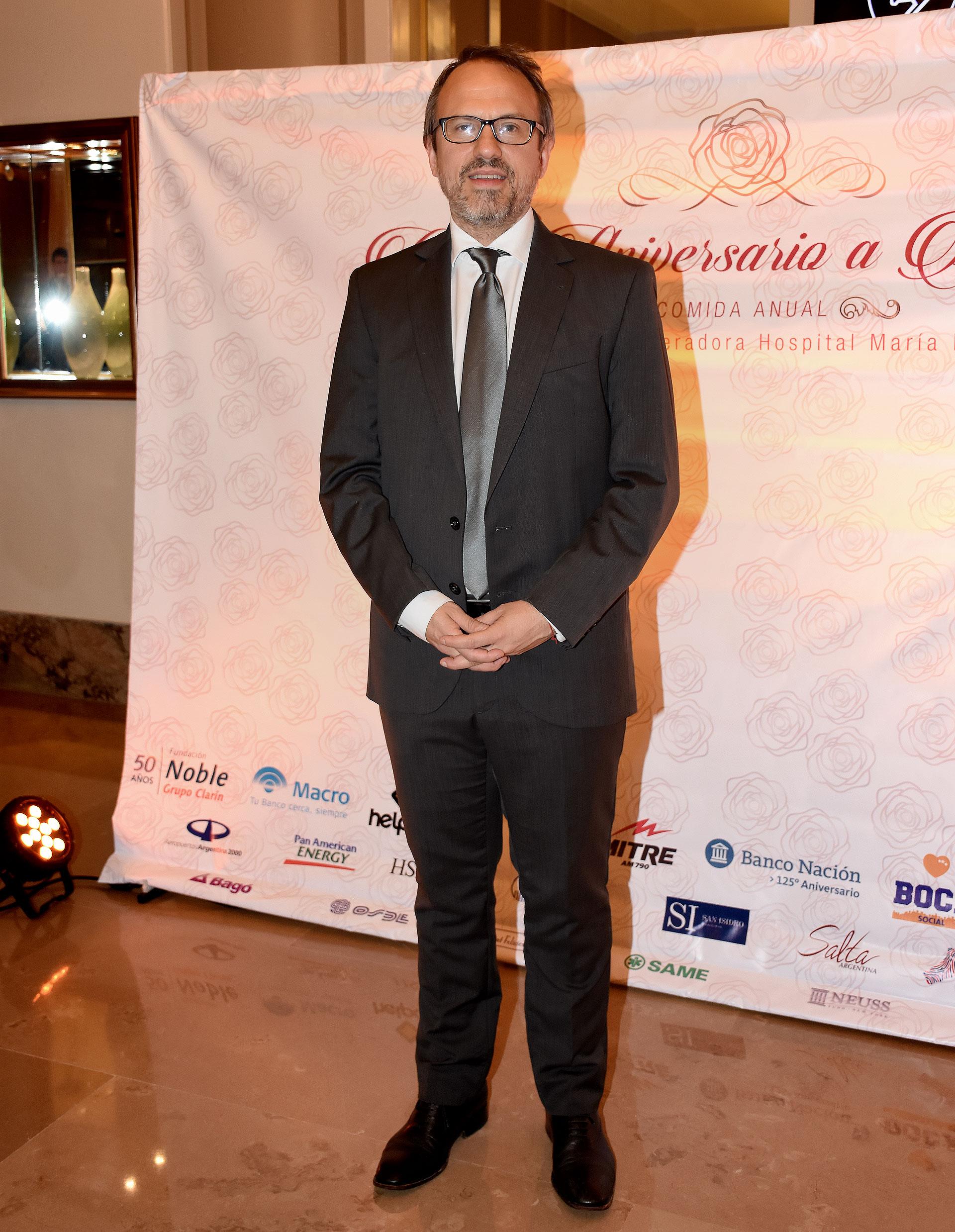 Diego Valenzuela, intendente de Tres de Febrero