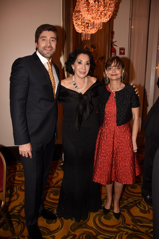 Walter Ramírez Moyano, Graciela Pérez Lastra y Claudia Stad