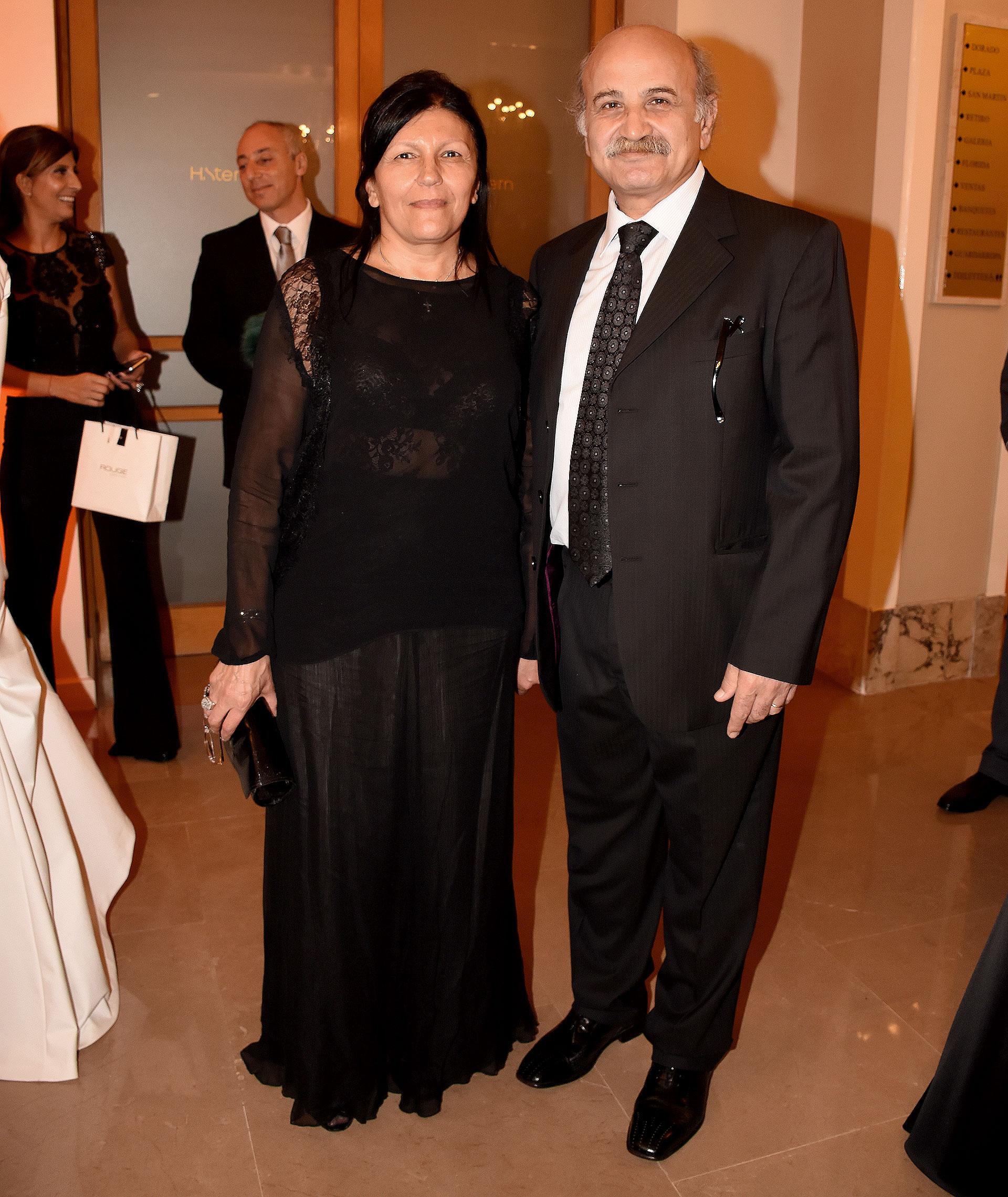 Alicia y Ghandour Daher