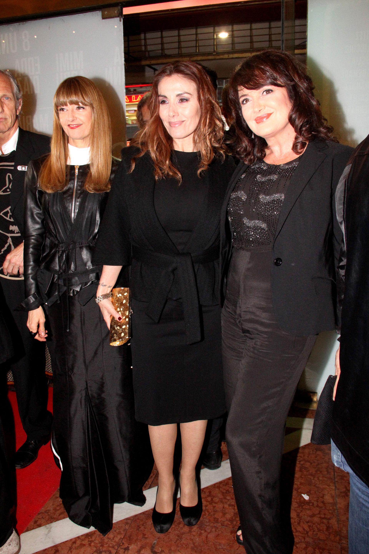 Carola Reyna, Viviana Saccone y Patricia Echegoyen