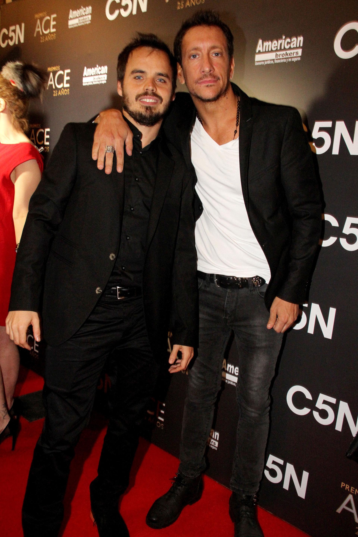 Nico Vázquez y Benjamín Rojas