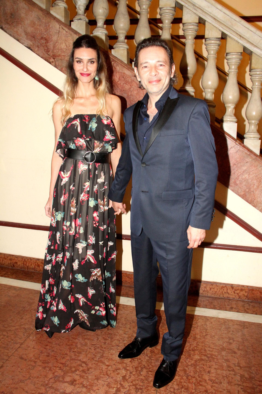 Paula Morales y Fabián Vena
