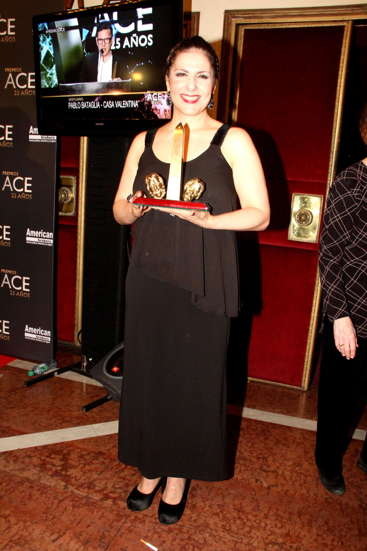 Karina K ganó por su actuación en Yiya, el musical