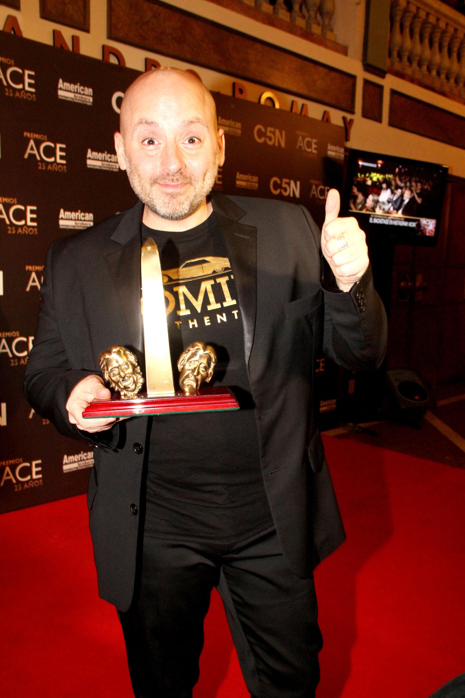 José María Muscari, ganador como director de comedia por Casa Valentina