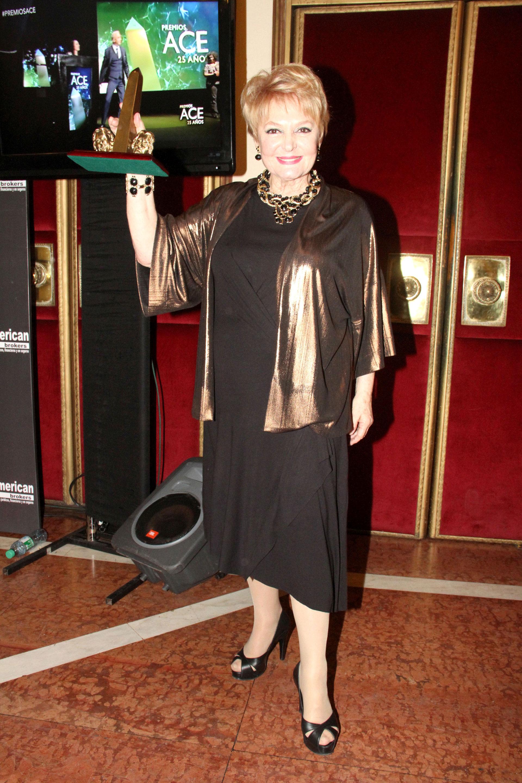Claudia Lapacó ganó un premio por su trabajo en Filomena Marturano