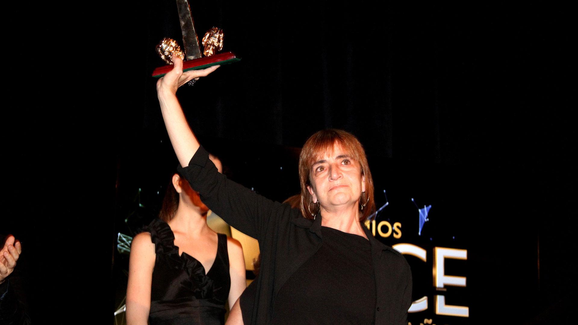 La directora teatral Corina Fiorillo se llevó el ACE de Oro