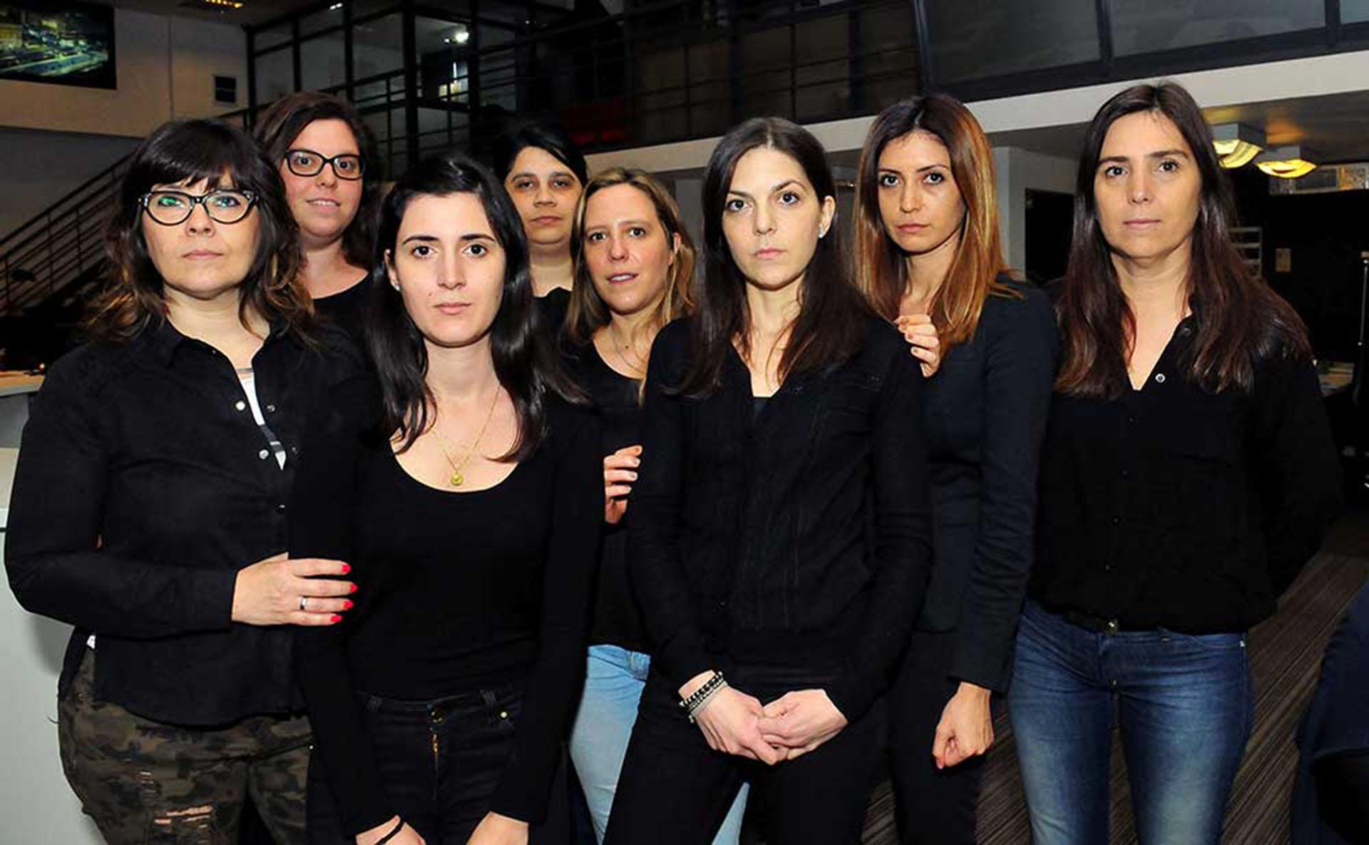 Trabajadoras de Crónica se suman al movimiento